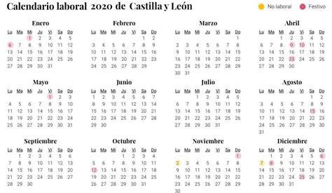 calendario laboral en castilla leon aprobado dos