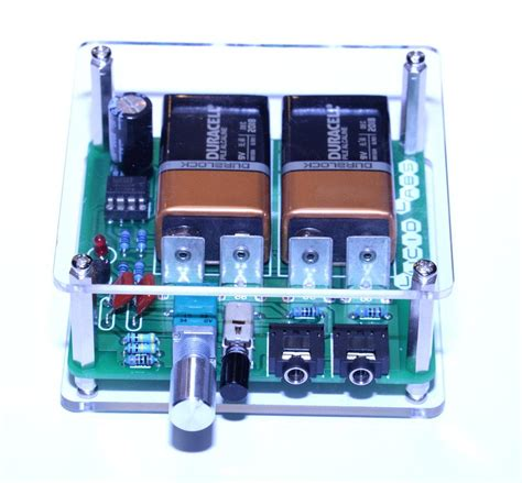 Lucid Labs Deluxe Cmoy Headphone Amplifier From