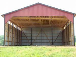 bk barns horse barn construction contractors in lascassas With 50x60 pole barn