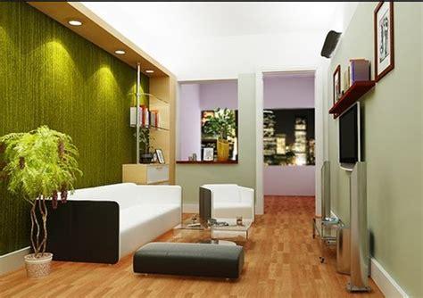 warna cat ruang tamu  terlihat luas  desain rumah