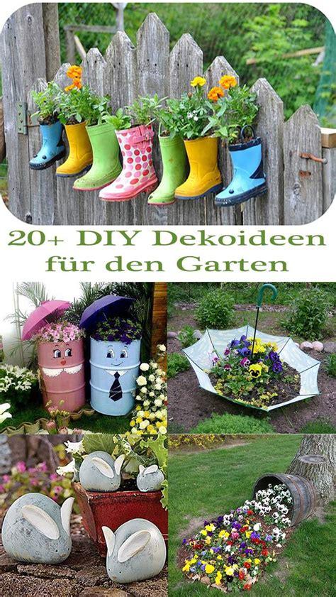 20+ Diy Dekoideen Für Den Garten  So Einfach Ist