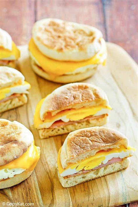 mcdonalds egg mcmuffin recipe   egg mcmuffin