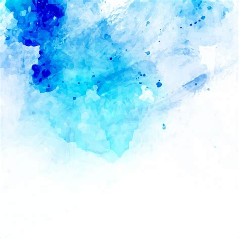 blue water color blue watercolor background vector free