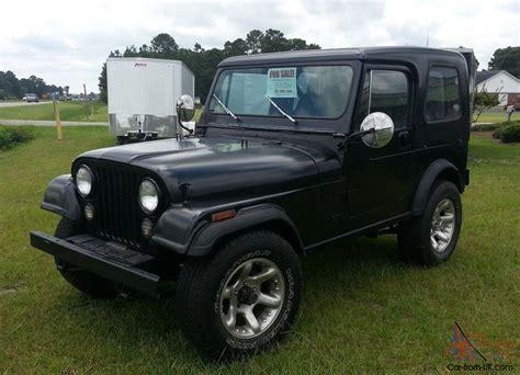 jeep hardtop 1984 jeep cj7 hardtop 4 2l 6 cylinder not cj5 or