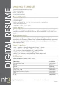 resume exle 55 cv template australia contemporary