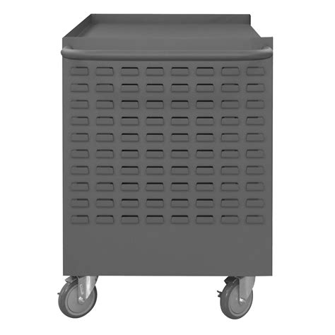 mobile wire spool maintenance cart  rods louvered