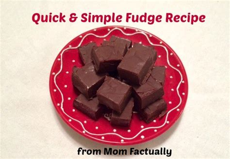 Quick And Simple Fudge Recipe With Just 3 Ingredients