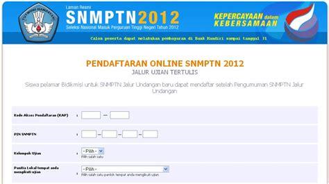 snmptn  info pendaftaran snmptn becak siantar