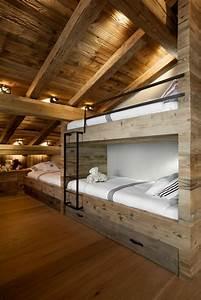 Pouf En Bois : quel type d int rieur pour votre chalet en bois habitable ~ Teatrodelosmanantiales.com Idées de Décoration