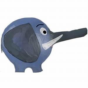 Faire Une Tirelire : elehant en papier mach d 39 alessio tirelire t te modeler ~ Nature-et-papiers.com Idées de Décoration