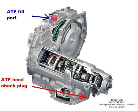 4t45e Automatic Transaxle Diagram by Interesting Notes About The 4t45e Transmission Saturn