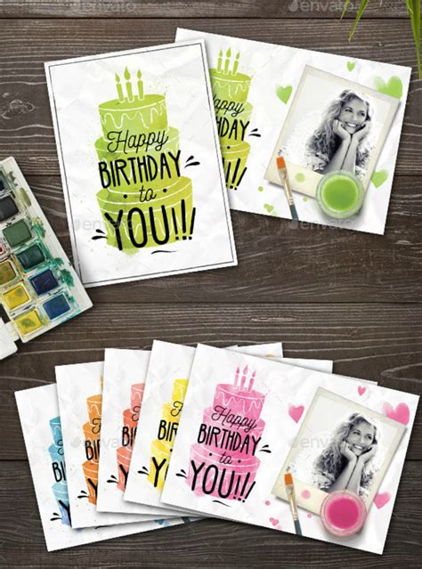 20 Birthday Card Psd Examples Design Trends Premium