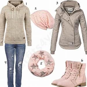 Outfits Damen 2017 : rosa beiges damen outfit im herbst 2017 w0616 mode mehr outfit ideen damen mode und outfit ~ Frokenaadalensverden.com Haus und Dekorationen