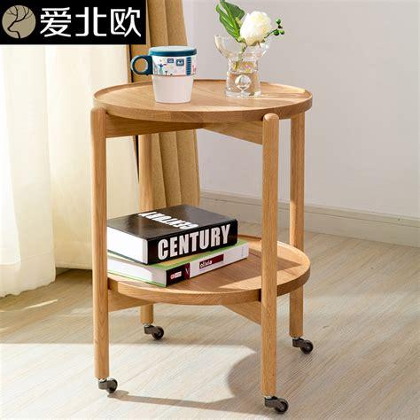 ikea solid wood coffee table love scandinavian minimalist small coffee table round