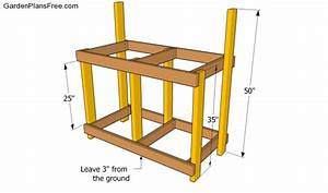 Potting Bench Plans With Sink Free Garden Plans - How to