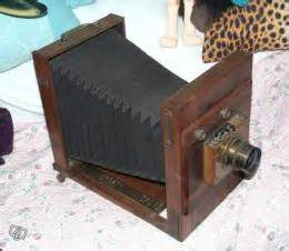 appareil photo chambre appareil photo ancien type chambre en acajou collection