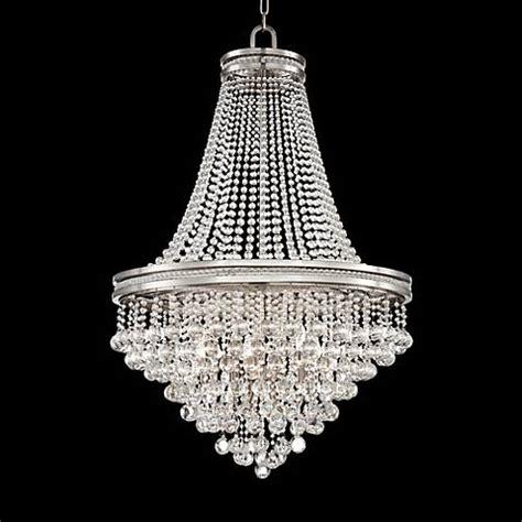 wide chandelier cherrie 29 quot wide large clear chandelier 7f756