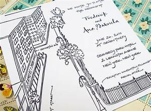 frederick ana39s grammercy park wedding invitations With wedding invitation calligraphy nyc
