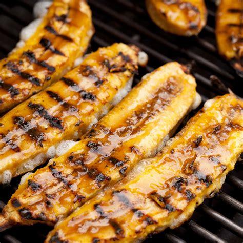 plantains recipe grilled ripe plantains pl 225 tanos maduros a la parrilla recipe epicurious com