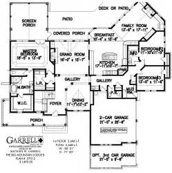 big house plans big mountain lodge b house plan house plans by garrell associates inc
