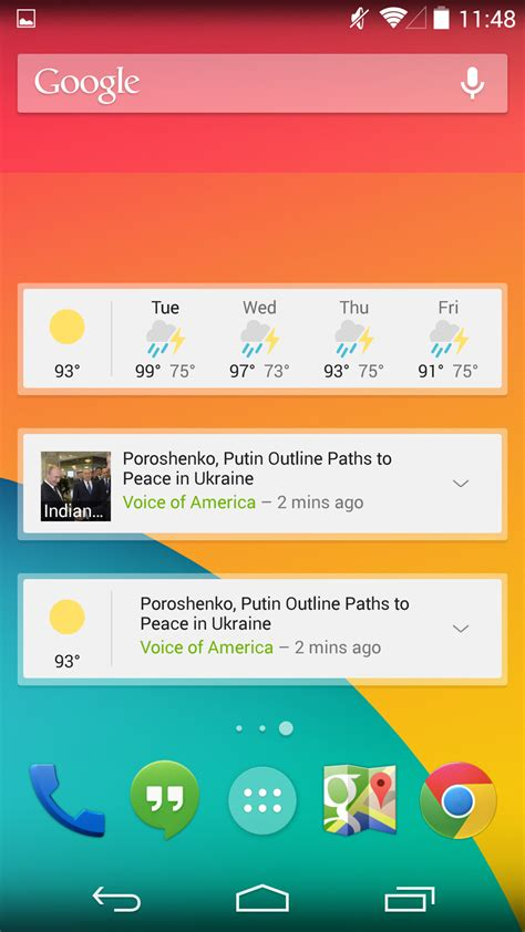 weather widgets for android s news weather app aka the genie widget gets a