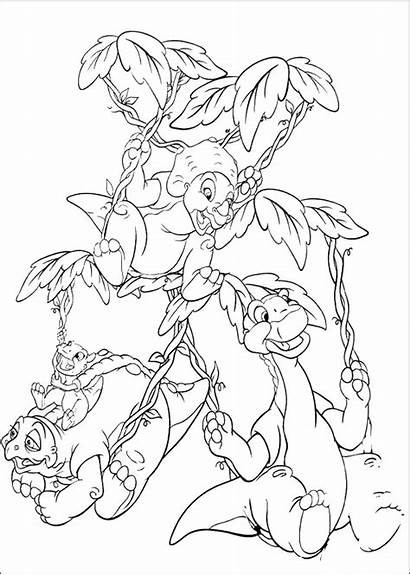 Land Before Coloring Pages