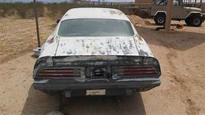 1974 Pontiac Firebird Manual Transmission V8 Project Or Parts