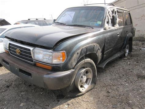 Toyota Land Cruiser Parts by Parting Out 1996 Toyota Land Cruiser Stock 120139