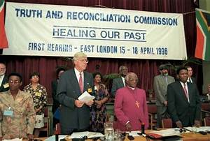 Truth and Reconciliation Commission, South Africa | South ...