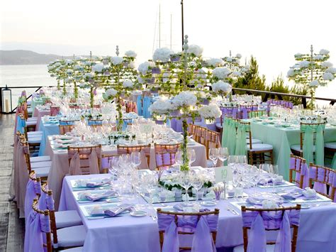 an amazing event by the sea organised and decorated by