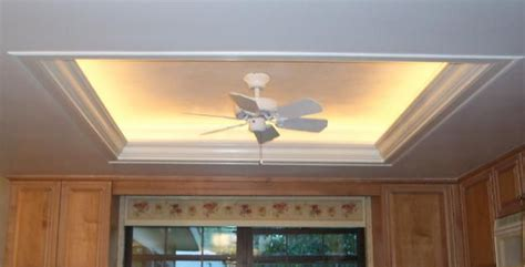 rope lighting in tray ceiling what to do with a recessed light box thing you can
