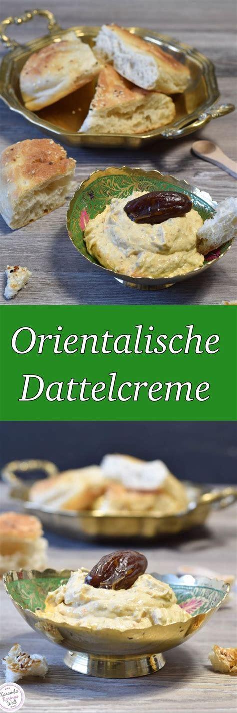 Orientalische Dattelcreme
