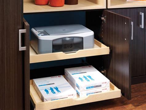 bureau avec rangement imprimante amenagement placard cuisine coulissant amenagement interieur placard cuisine 10 pour placard