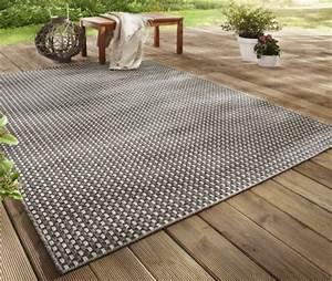 outdoor teppiche fur balkon und terrasse bonprix With balkon teppich mit tapete taupe streifen