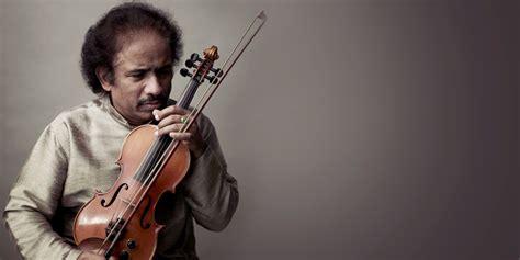 Liepājā indiešu vijoļspēles ikona - Dr. L. Subramanjams