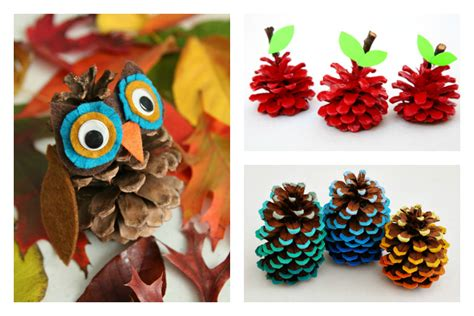 6 Adorable Pinecone Crafts. Hello, Fall! Pasteles Para Baby Shower Ni?o Unique Girl Themes Venues In Pretoria Dresses Purple Owl Decorations Prizes For Guys Deer Invitations Decorate A