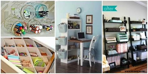 Diy Ideas And Hacks To Organize Your Office