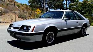 1986 Ford Mustang LX non GT Fastback V6 2 Owner Low Miles Hatchback Youngtmer - YouTube