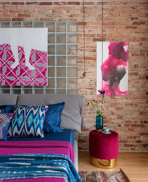 Quirky Colourful Interior With Unique Lighting Schemes