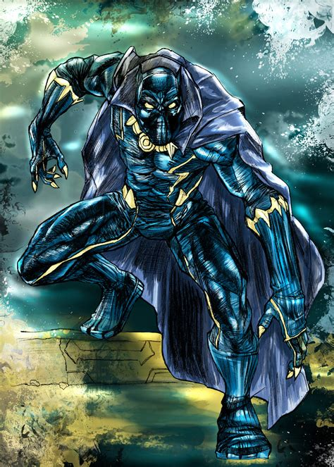 Black Panther Character Worldofblackheroes