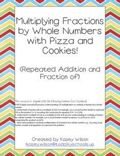 1000+ Images About Multiply Fractions By Whole Numbers On Pinterest  Multiplying Fractions