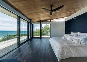 Panoramic windows design and using in modern homes idea