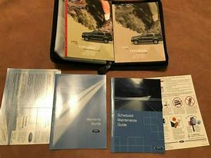 2004 Ford Explorer Owners Manual Set With Case