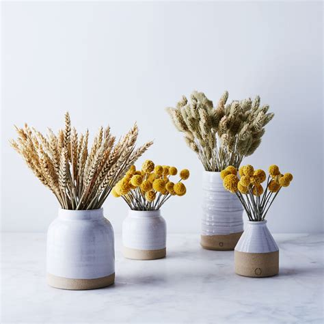 Dried Flower Arrangements In Vases by Handmade Ceramic Vase Dried Floral Arrangement On Food52