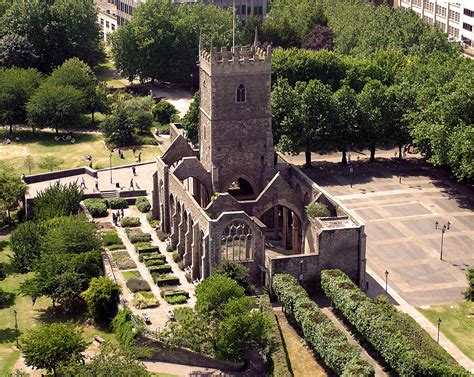 st s was a church in what is now castle park bristol the church has saxon foundations