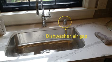 under sink air gap dishwasher air gaps startribune com