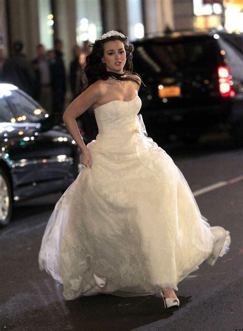 blair waldorfs wedding dress  enviable fictional