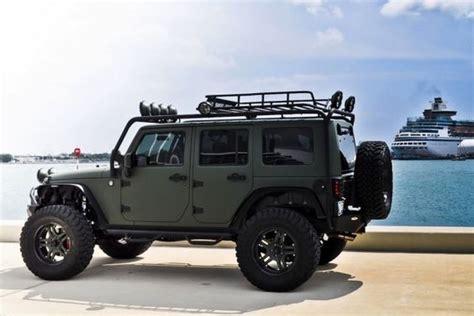 dark green jeep jeep wrangler unlimited dark green military green jeep