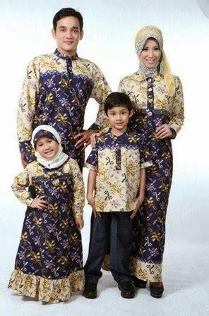contoh model baju batik muslim anak terbaru terbaik