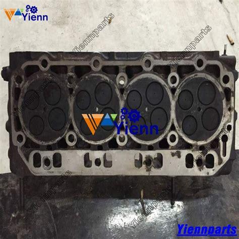 yanmar tnv tnvt cylinder head assy  original parts  takeuchi tl track